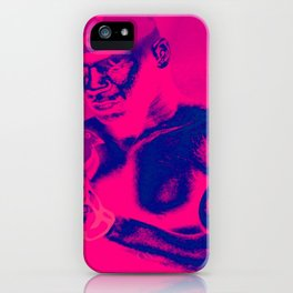 P U R P L E P I N K I N MO T IO N iPhone Case