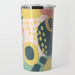 Hide and seek #vectorart #graphic #pattern #joy Travel Mug