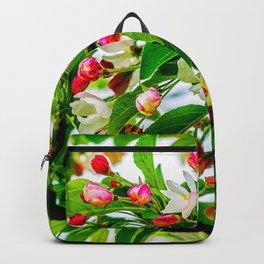 Apple Buds In Spring Backpack