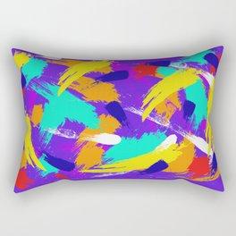 Violet Emotions Rectangular Pillow