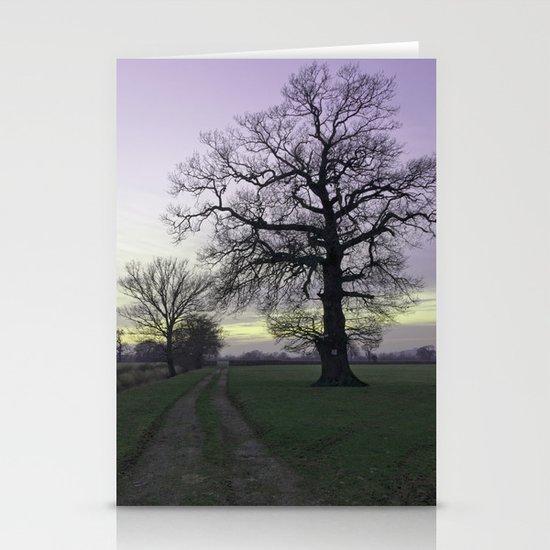 evening light... Stationery Cards