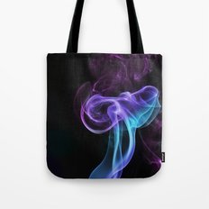 colored smoke Tote Bag