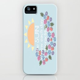 Morning Motavation  iPhone Case