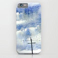 Bird on a wire iPhone 6s Slim Case