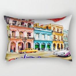 I  love Cuba Rectangular Pillow