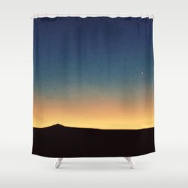 Southwestern Sunset Shower Curtain