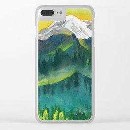 The Peak Clear iPhone Case