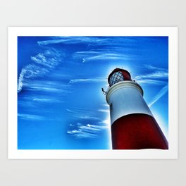 Souter Lighthouse Art Print