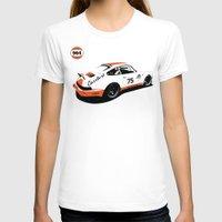 porsche T-shirts featuring Porsche 964 by Carrture