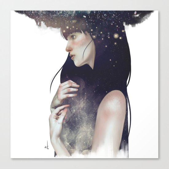 Crown of Stars Canvas Print