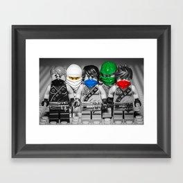 Ninjago Crew Framed Art Print