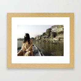 Sadhu Nityanand Framed Art Print