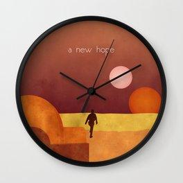 A New Hope Wall Clock