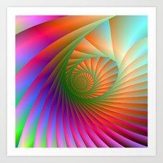 Spiral Shell Art Print