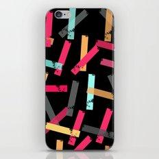 KISOMNA #3 (Black BG) iPhone & iPod Skin