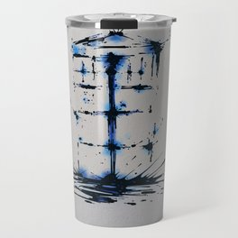 Splaaash Series - Blue Box Ink Travel Mug