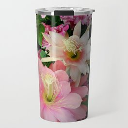Cacti, Pink And Paler Travel Mug