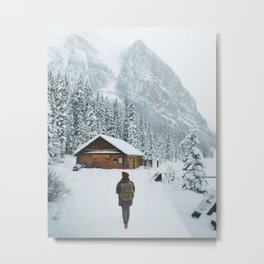 A Winter Wonderland Metal Print