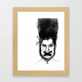 Wayne Static Framed Art Print