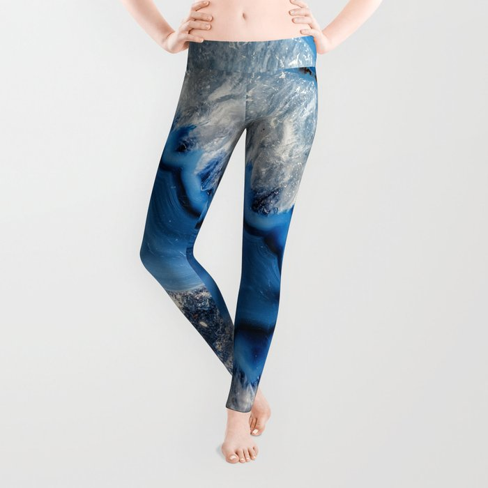 Blue agate 3064 Leggings