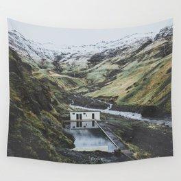 Seljavallalaug, Iceland Wall Tapestry