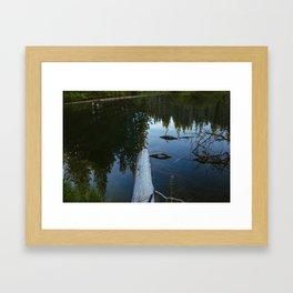 Little Crater Lake 3 Framed Art Print