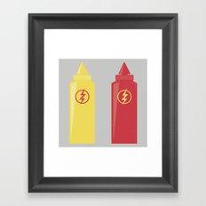 Star Lab Sauces Framed Art Print