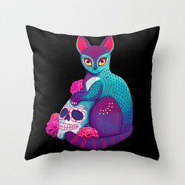 Alebrije Throw Pillow