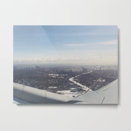 Airplane Mode Metal Print