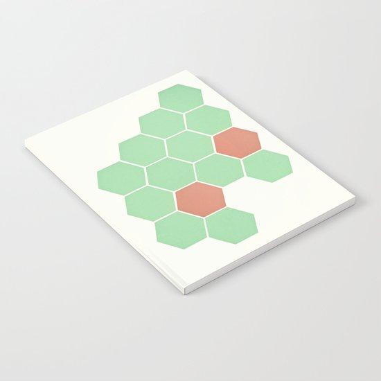 Mint Honeycomb Notebook