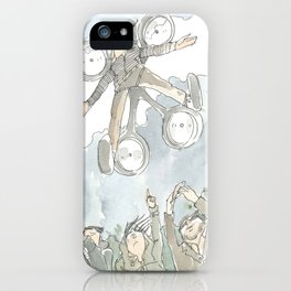 """""""Dronny Johnny """" iPhone Case"""