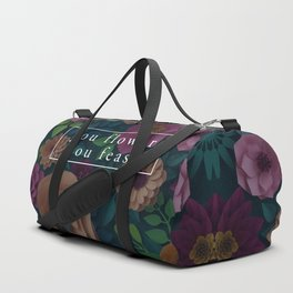 YOU FLOWER, YOU FEAST Duffle Bag
