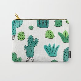 Cactus Don't Shave Carry-All Pouch