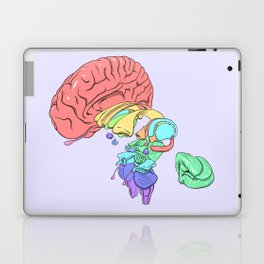 Exploded Anatomical Brain Laptop & iPad Skin