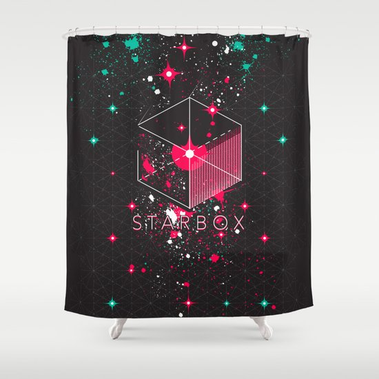 STARBOX Shower Curtain