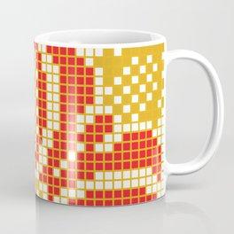 Red & Gold Flower Coffee Mug