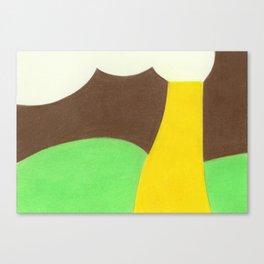 Ford Pistache Canvas Print