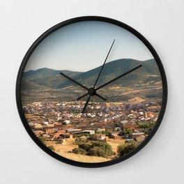 Los Navalucillos 01 Wall Clock