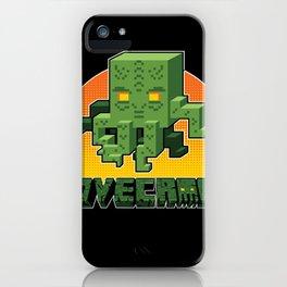 Minecraftian iPhone Case