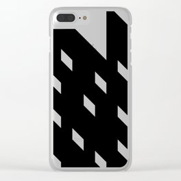 Thunder And Rain Clear iPhone Case