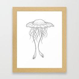 #3 Jellyfish Series Framed Art Print