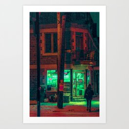 MTL Dep Art Print