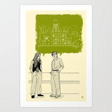 Talkin' With Annie Art Print
