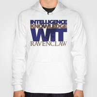 ravenclaw Hoodies featuring Ravenclaw by Fanboy's Canvas