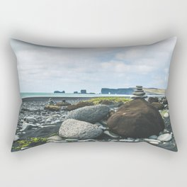 Coastal Stacks Rectangular Pillow