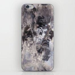 Monochrome Chaos iPhone Skin