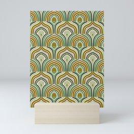 Jade Rainbow Tiles Mini Art Print
