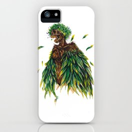 Nature's Lady iPhone Case