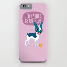 The Boston Terrier is out iPhone 6s Slim Case