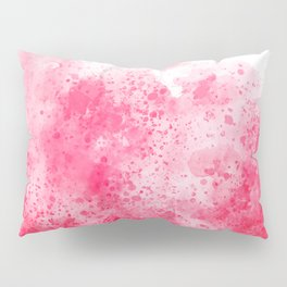 Splatter Pink Pillow Sham